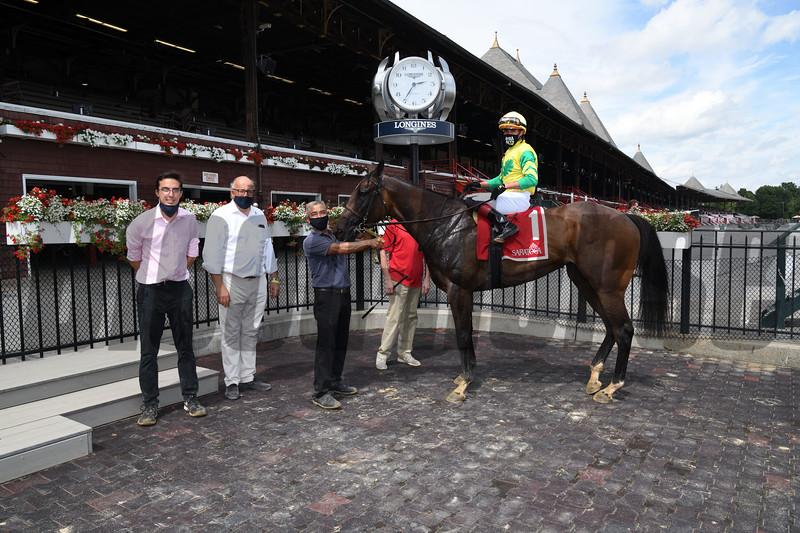Fresco wins the 2020 NYSS Statue of Liberty at Saratoga<br /> Coglianese Photos