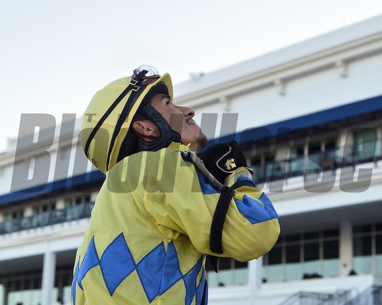 Paco Lopez at Gulfstream Park. Photo: Coglianese Photos/Ryan Thompson