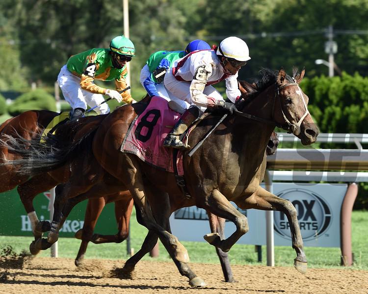 Thin White Duke wins the 2020 Funny Cide Stakes at Saratoga<br /> Coglianese Photos
