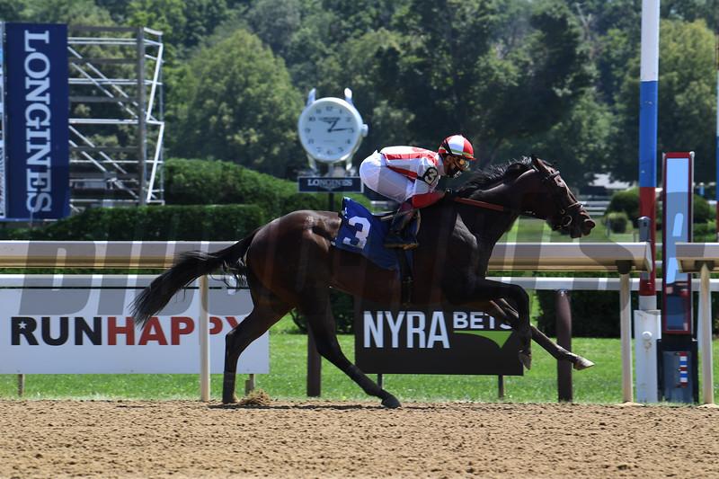 Reinvestment Risk - Maiden Win, Saratoga, August 1, 2020. Photo: Coglianese Photos