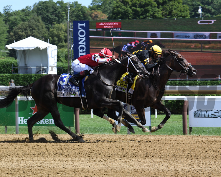 Vexatious wins the 2020 Personal Ensign Stakes at Saratoga<br /> Coglianese Photos/Susie Raisher