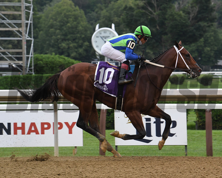 Jackie's Warrior wins the 2020 Saratoga Special<br /> Coglianese Photos