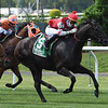 Instilled Regard wins the 2020 Fort Marcy Stakes at Belmont Park.<br /> Coglianese Photos