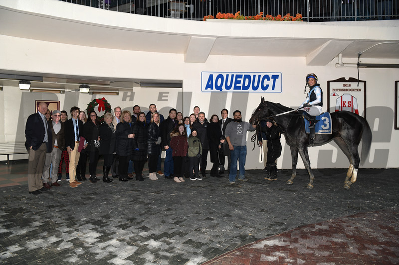 Independence Hall wins the 2020 Jerome at Aqueduct<br /> Coglianese Photos