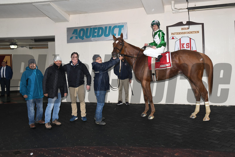 Mr. Buff wins the 2020 Jazil Stakes at Aqueduct<br /> Coglianese Photos