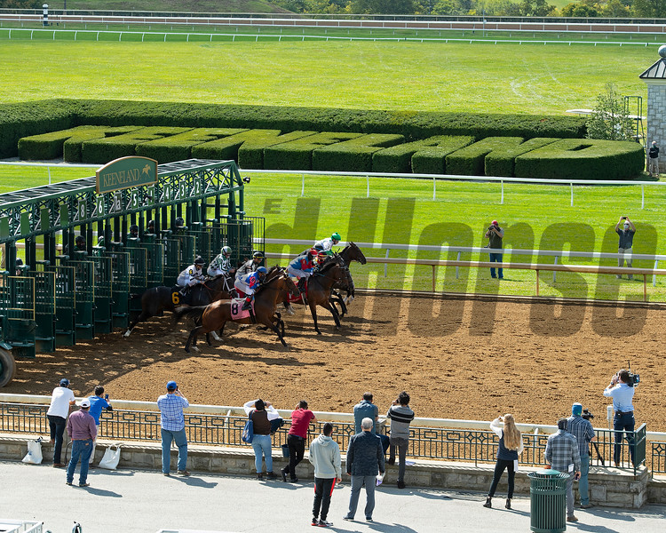Race 4<br /> Scenes at Keeneland  on October 3, 2020.