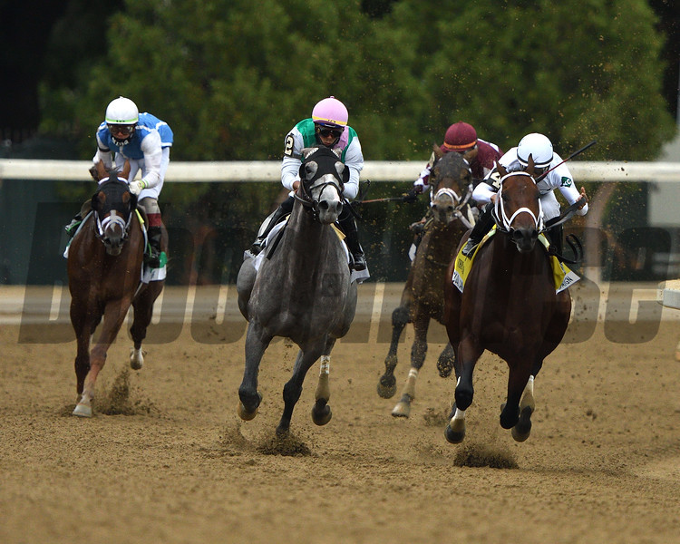 Global Campaign wins the 2020 Woodward Handicap at Saratoga<br /> Coglianese Photos/Dom Napolitano