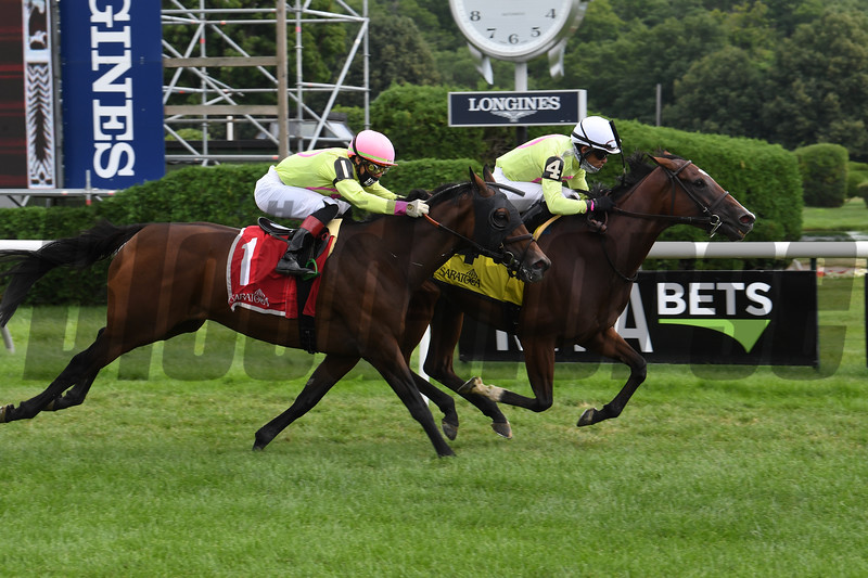 Classic Lady wins the 2020 Dayatthespa Stakes at Saratoga<br /> Coglianese Photos