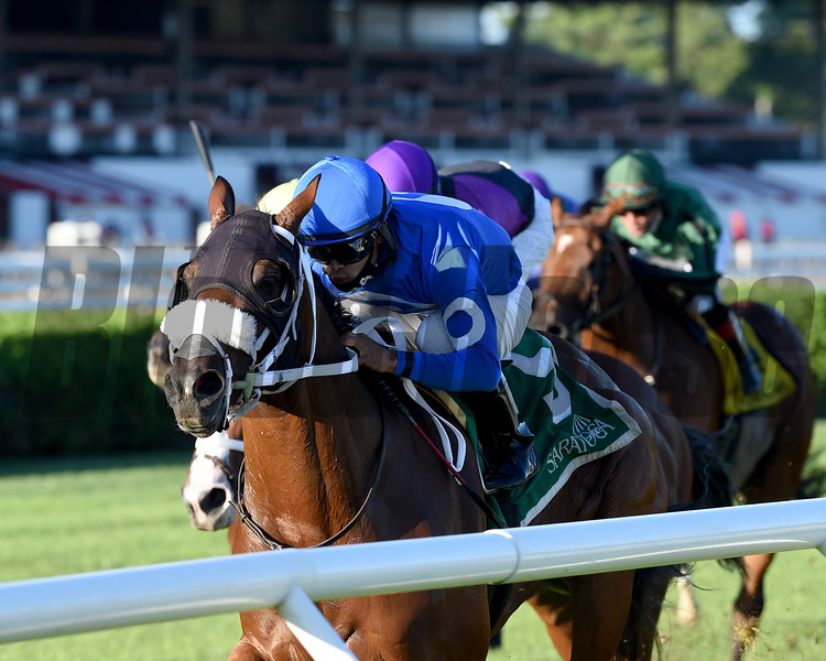 Rinaldi wins the West Point Stakes at Saratoga<br /> Coglianese Photos/Chelsea Durand