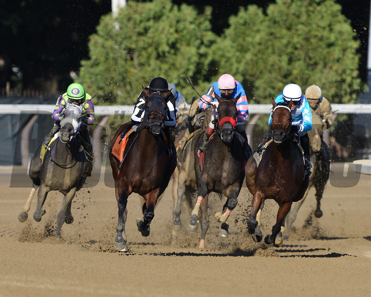 Come Dancing wins the Honorable Miss Handicap Sunday, September 6, 2020 at Saratoga Race Course. Photo: Coglianese Photos/Dom Napolitano