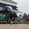 Up in Smoke wins the 2020 Game Face Stakes at Gulfstream Park. Photo: Coglianese Photos/Ryan Thompson