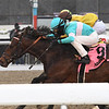 Mind Control wins the 2020 Toboggan Stakes at Aqueduct<br /> Coglianese Photos/Joe Labozzetta