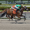 Thissmytime wins a maiden special weight Sunday, May 31, 2020 at Gulfstream Park. Photo: Coglianese Photos/Lauren King