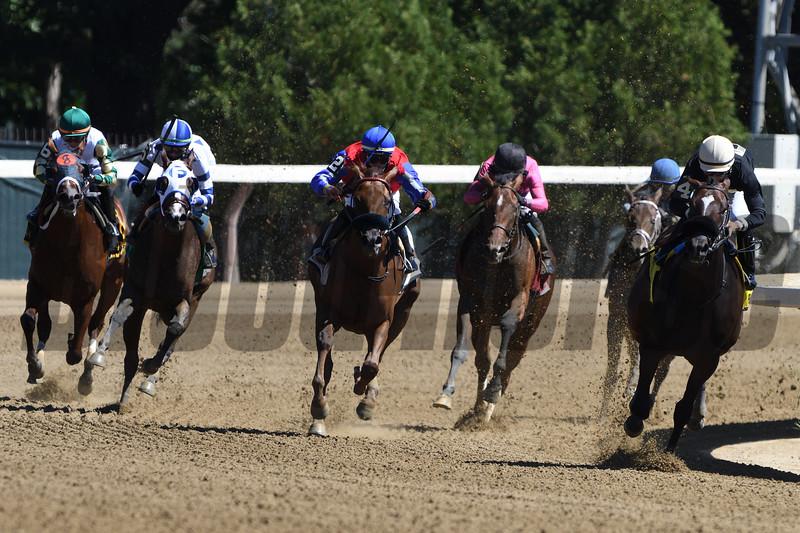 Samborella wins the 2020 Seeking the Ante Stakes at Saratoga<br /> Coglianese Photos/Dom Napolitano