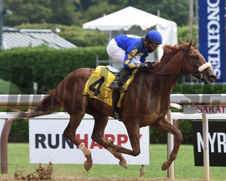 Ampersand - Maiden Win, Saratoga, August 22, 2020<br /> Coglianese Photos/Chelsea Durand