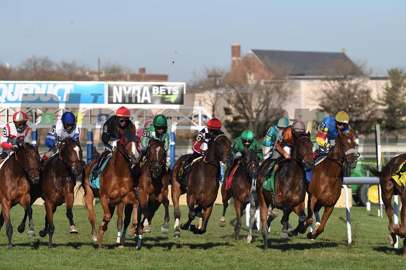 2020 Racing scene at Aqueduct. Photo: Coglianese Photos