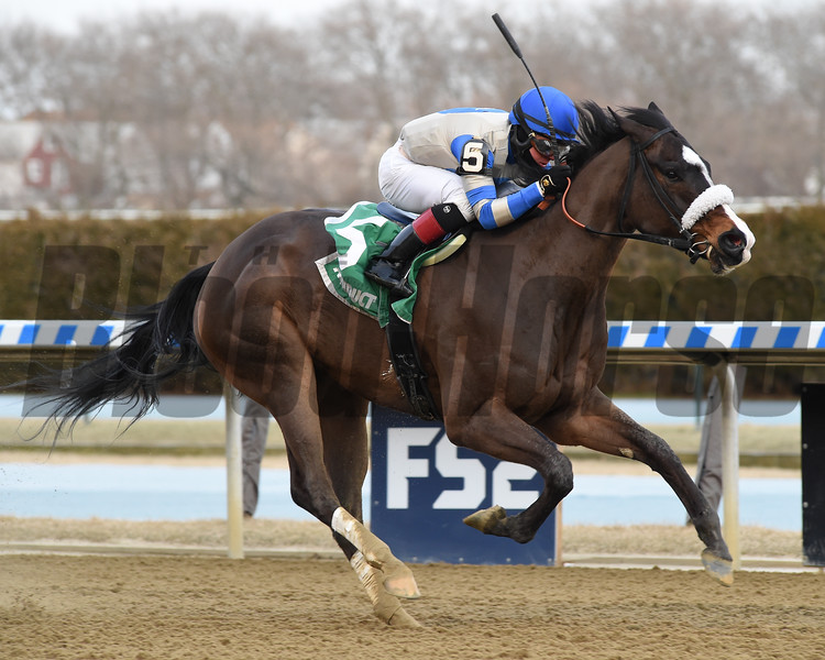 Kept True wins the 2020 Broadway Stakes at Aqueduct<br /> Coglianese Photos/Chelsea Durand