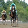 War Front with Jose Santos wins the 2006 Alfred G. Vanderbilt Breeders' Cup Handicap at Saratoga.  <br /> Coglianese Photos