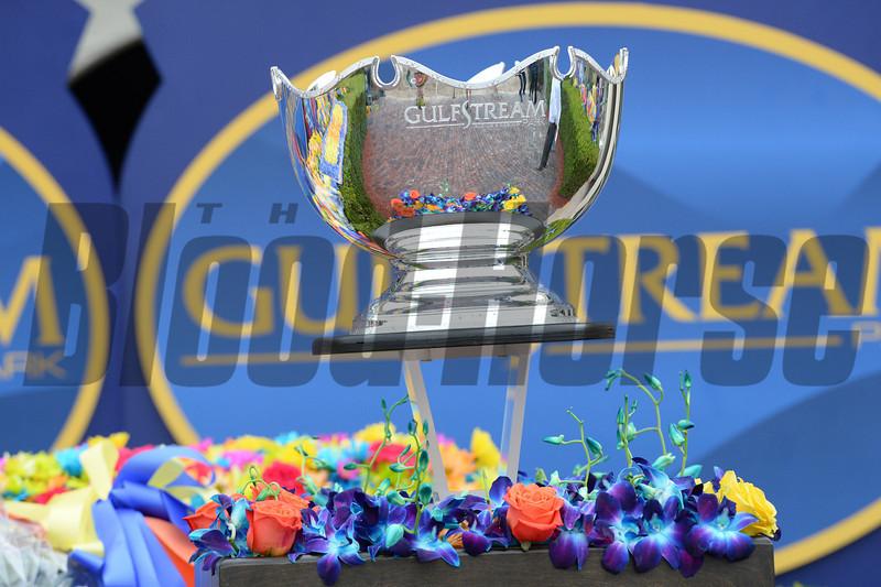 Constitution wins the 2014 Florida Derby at Gulfstream Park.<br /> Coglianese Photos