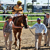 Wise Dan wins the Woodford Reserve (gr. I).<br /> Dave Harmon Photo
