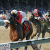 Wicked Strong wins the 2014 Jim Dandy at Saratoga.<br /> Coglianese Photos/Adam Mooshian