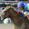 V. E. Day wins the 2014 Curlin Stakes at Saratoga.<br /> Coglianese Photos/Adam Mooshian