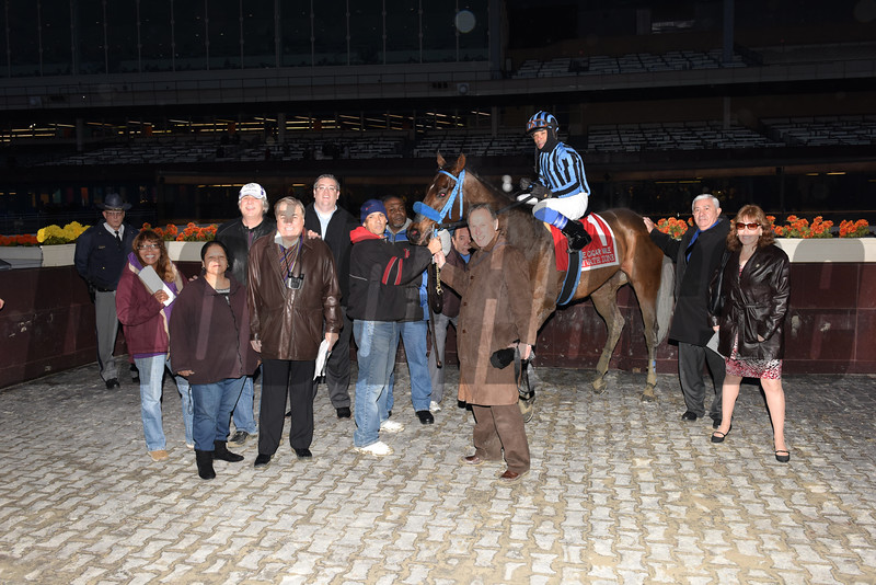 Private Zone wins the 2014 Cigar Mile at Aqueduct.<br /> Coglianese Photos
