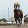 Happy My Way wins the 2014 Sir Shackleton Stakes at Gulfstream Park. <br /> Coglianese Photos