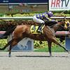 Leap Year Luck wins the 2014 Florida Stallion Desert Vixen Stakes at Gulfstream Park. <br /> Coglianese Photos/Leslie Martin