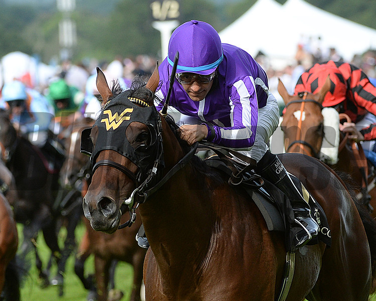 Hootenanny, Victor Espinoza up wins the Windsor Castle Stakes, Royal Ascot, Ascot Race Course, England, 6/17/14 photo by Mathea Kelley