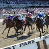 Close Hatches wins the 2014 Ogden Phipps Stakes.<br /> Coglianese Photos/Chelsea Durand