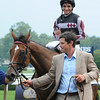 Daring Dancer wins the 2014 Lake George Stakes at Saratoga.<br /> Coglianese Photos/Susie Raisher