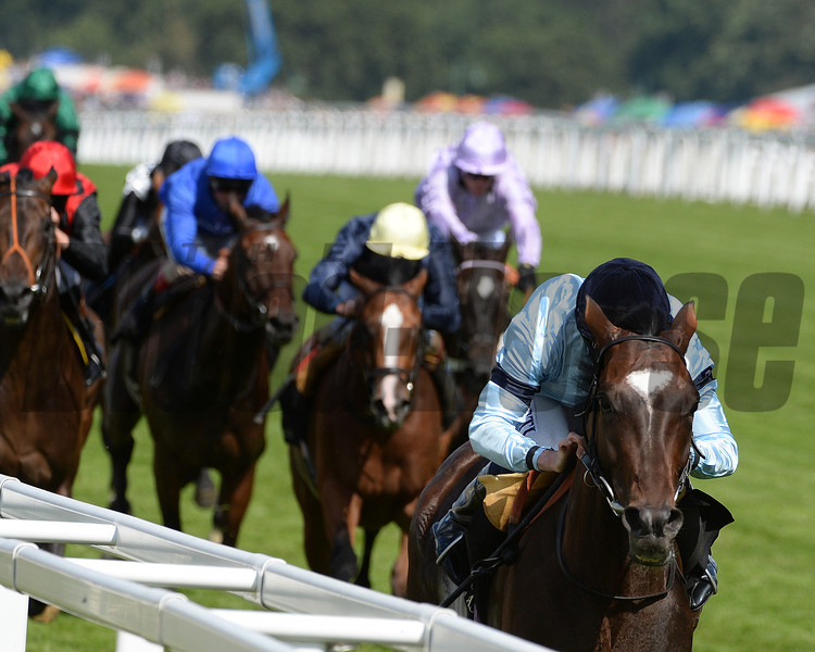 Telescope, Ryan Moore up win the  Hardwicke Stakes, Royal Ascot, Ascot Race Course, England, 6/21/14 photo by Mathea Kelley,