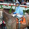 V. E. Day wins the 2014 Curlin Stakes at Saratoga.<br /> Coglianese Photos