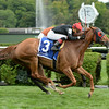 Abaco wins the 2014 Ballston Spa at Saratoga.<br /> Coglianese Photos/Chelsea Durand