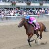 La Verdad wins the 2014 Iroquois Stakes at Belmont Park.<br /> Coglianese Photos