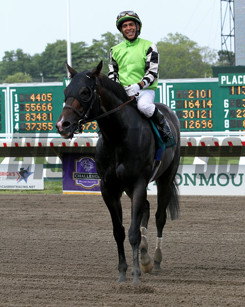 Valid Orlando Bocachica Monmouth Cup Chad B. Harmon