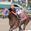 Micromanage wins the 2014 Skip Away at Gulfstream Park.<br /> Coglianese Photos/Lauren King