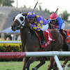 Best Plan Yet wins the 2014 Forty Niner Stakes at Saratoga.<br /> Coglianese Photos/Kenny Martin