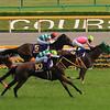 Nuovo Record wins the Japanese Oaks May 25.<br /> Naoji Inada Photo