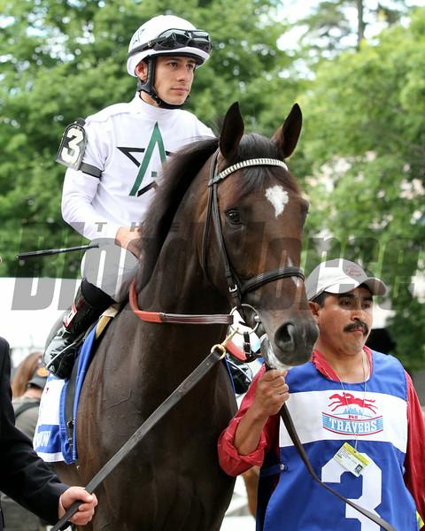 Charge Now Travers Junior Alvarado Saratoga Race Course Chad B. Harmon
