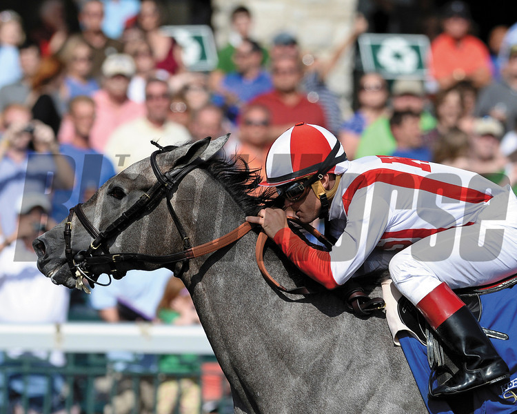 Ready to Act wins the Beaumont SStakes Presented by Keeneland Select (gr. II), Keeneland, Grade II Stakes, $200,000, 3 yo, Fillies, About 7 furlongs, 1:28.08, Fast.