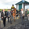 Ring Weekend wins the 2014 Hill Prince at Belmont Park.<br /> Coglianese Photos