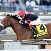 Dads Caps wins the 2014 Carter at Aqueduct.<br /> Coglianese Photos/Adam Mooshian