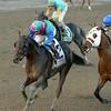 Itsmyluckyday wins the 2014 Woodward at Saratoga.<br /> Coglianese Photos/Joe Labozzetta