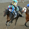 Itsmyluckyday wins the 2014 Woodward at Saratoga.<br /> Coglianese Photos/Joe Labozzetta