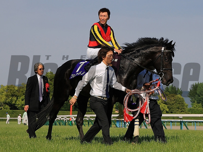 Fenomeno wins the Tenno Sho Spring