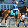 Minorette wins the 2014 Belmont Oaks.<br /> Coglianese Photos/Adam Mooshian