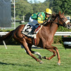 Miss Frost wins the 2014 Riskaverse at Saratoga.<br /> Coglianese Photos/Chelsea Durand