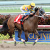 Happy My Way captures the Sir Shackleton Stakes at Gulfstream Park. <br /> Coglianese Photo